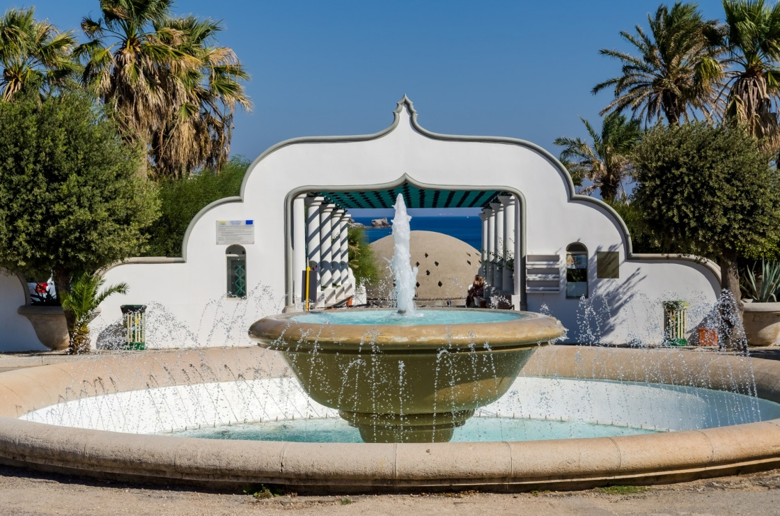 Kallithea springs Rhodes island Greece